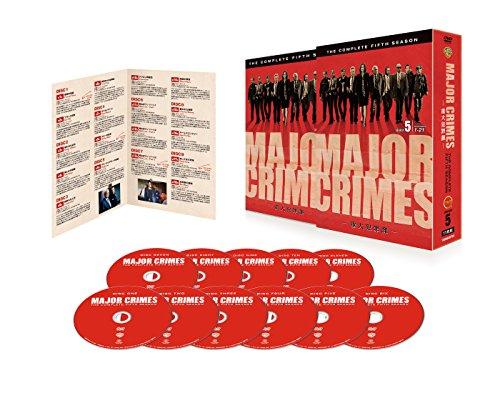 MAJOR CRIMES ~重大犯罪課~〈フィフス・シーズン〉 コンプリート・ボックス[DVD]