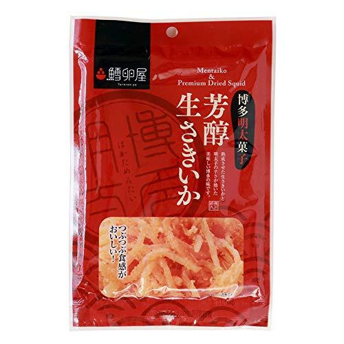 鱈卵屋 博多明太子 芳醇生さきいか 30g 3袋セット