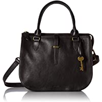 Fossil Women Ryder Handbag, Black, 12 Inches L X 5.5 Inches W X 10 Inches H