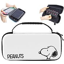 スヌーピー Nintendo Switch ケース ニンテンドースイッチ用 収納カバー かわいい マルチケース(ホワイト617) [並行輸入品]