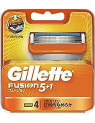 ジレット フュージョン5+1 マニュアル 髭剃り 替刃 4コ入