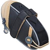 Detours Wedgie Seat Bag: MD, Black/Tan Coated by Detours