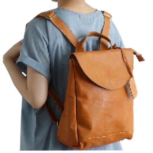 【 fes フェス 】 レザー リュックサック リュック 47511 レディース リュック 牛革 バッグ 本革 通勤バッグ 通勤用 鞄 かばん カバン ギフト プレゼント Gift (キャメル)