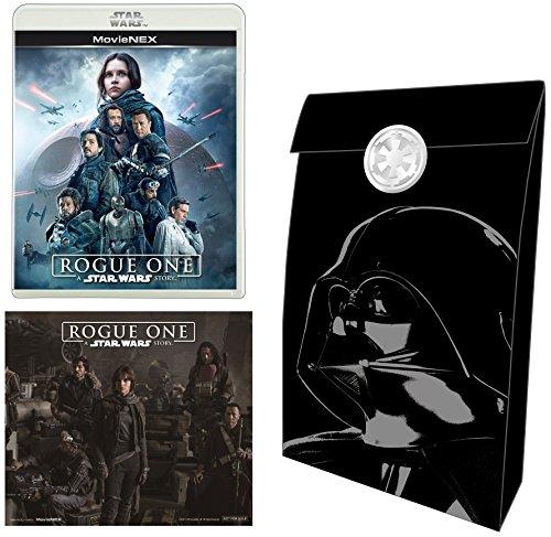 【Amazon.co.jp限定】ローグ・ワン/スター・ウォーズ・ストーリー MovieNEX [ブルーレイ+DVD+デジタルコピー(クラウド対応)+MovieNEXワールド] [Blu-ray](オリジナルステッカー&ギフトバック付)