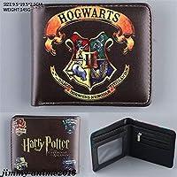 Harry Potter Deathly Hallows Hogwarts Purse Coin PU Layers Holder Wallet Handbag 04#