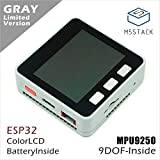 M5Stack ESP32 Mpu9250 9Axiesモーションセンサーコア開発キットArduino用の拡張可能なIoT開発ボード