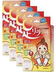 足リラシート 唐辛子 30枚×4個セット