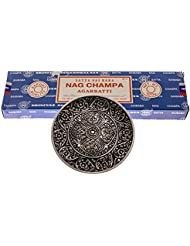 100グラムNag Champaバンドルwith alternative想像力Incense Burner
