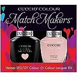 Cuccio MatchMakers Veneer & Lacquer - On Sail - 0.43oz / 13ml Each