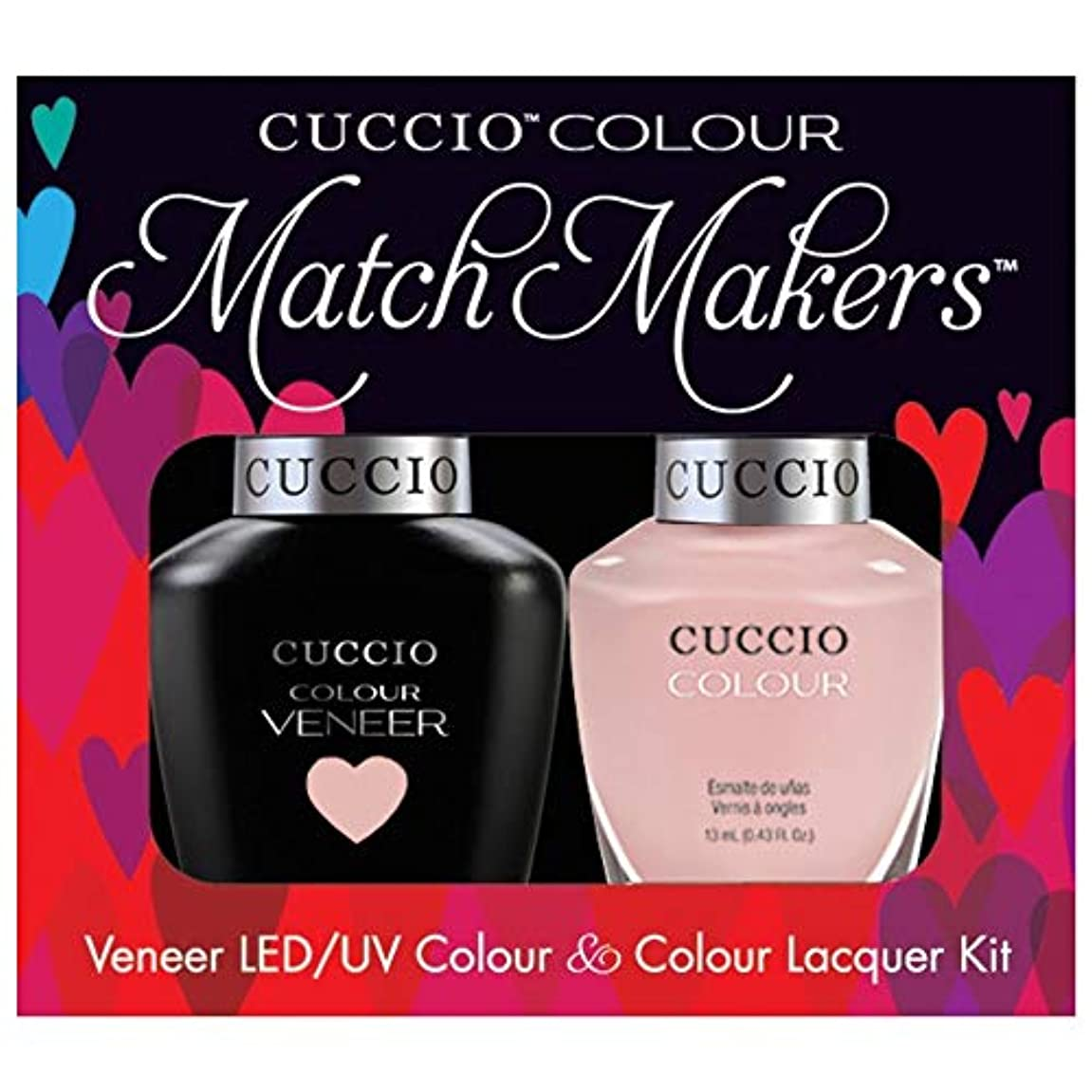 ひねくれた不平を言う植物学Cuccio MatchMakers Veneer & Lacquer - On Sail - 0.43oz / 13ml Each