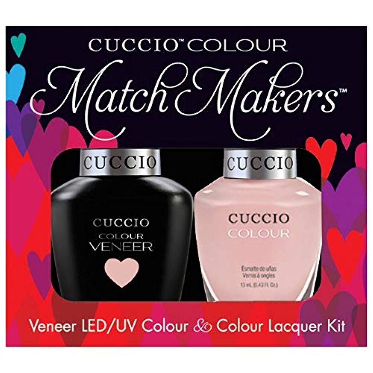不変ハンドブック粘土Cuccio MatchMakers Veneer & Lacquer - On Sail - 0.43oz / 13ml Each
