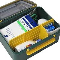 応急手当用品9点セット 防滴タイプ 外傷用救急箱 労働安全衛生規則準拠 外現場向け