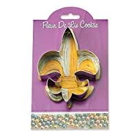Fleur de Lis Cookie and Fondant Cutter - Ann Clark - 4.6 Inches - US Tin Plated Steel by Ann Clark Cookie Cutters
