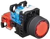 富士電機 照光押しボタンスイッチ 平形Φ24 赤 AR22F0L-11E3R