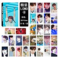 BTS - LOVE YOURSELF 結 ANSWER - PHOTO CARD SET メンバー選択 - LOMO CARD 防弾少年団 トレカ フォトカードセット30枚 (SUGA)