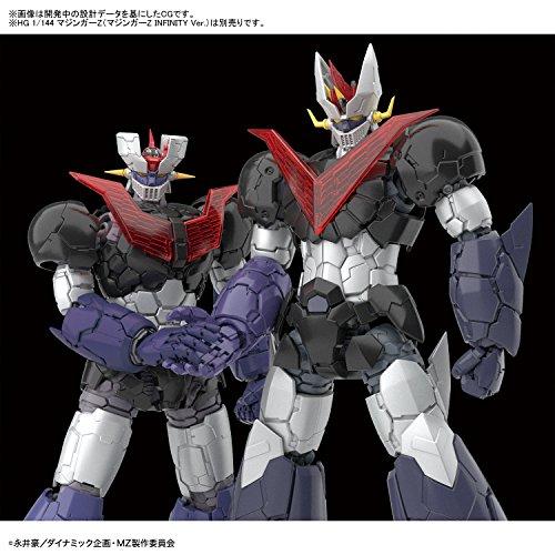 HG グレートマジンガー(マジンガーZ INFINITY Ver.) 1/144スケール 色分け済みプラモデル