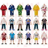 おそ松さん ワールドコレクタブルフィギュア-松に衣を!!- 専用キット 浴衣&Tシャツ&開襟シャツ 全18種セット