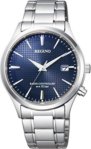 [シチズン]腕時計 REGUNO レグノ ソーラーテック電波時計 KL8-911-71 メンズ