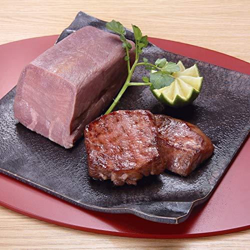 仙台・陣中 牛タンそのまま(食)丸ごと一本塩麹熟成ブロック KG-85 【お肉 牛肉 厚切り おつまみ ご飯 おいしい 絶品】