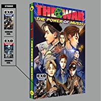 EXO - The War: The Power of Music [Korean ver.] (Vol.4 Repackage) CD+Official Folded Poster+Extra Photocard 【Creative Arts】 [並行輸入品]