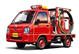 青島文化教材社 1/24 ザ・ベストカーGTシリーズ No.50 スバル サンバー消防車 4WD トラック型 プラモデル