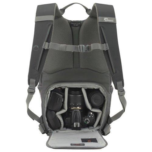 Lowepro カメラリュック フォトハッチバッグ22L AW 22L レインカバー PCスペース有 グレー 364341