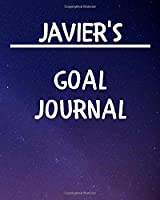 Javier's Goal Journal: 2020 New Year Planner Goal Journal Gift for Javier  / Notebook / Diary / Unique Greeting Card Alternative