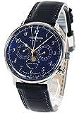 [ツェッペリン] ZEPPELIN 腕時計 7036-3 ヒンデンブルク クォーツ 40MM レザーベルト [並行輸入品]