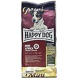 HAPPY DOG (ハッピードッグ) スプリーム・ミニ アフリカ (ダチョウ) グレインフリー アレルギーケア グルメで敏感な成犬用ドライフード 小型犬用 (300g)