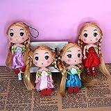RaiFu キーチェーン キーリング 12cm ダブル編組ちょう結び 人形ペンダント ギフト おもちゃ