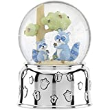 Reed & Barton 869688 Hazelnut Hollow Raccoon Musical Waterglobe [並行輸入品]
