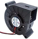 ワイドワーク DCブロアファン 2ボールベアリング 寸法60mm×60mm×厚さ25mm 回転数4500rpm PABD16025BH