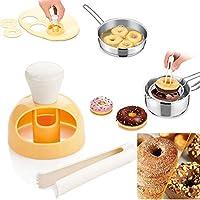 unakim --中空DIYドーナツ金型ケーキデザートパンカッターメーカーキッチンベーキングMould