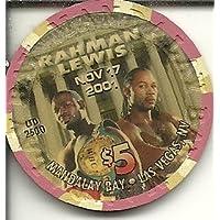 $ 5マンダレーベイObsolete Rahman Lewis Boxing 2001ラスベガスカジノチップObsolete