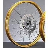 ヤマハ フロントホイールASSY ゴールド XT250 SEROW 3C5-25102-00-35