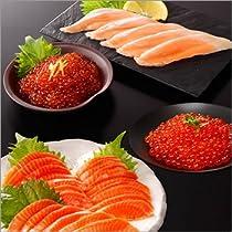 かっぱ寿司特選 海の親子スペシャルセット(トロサーモン×40枚 サーモン×40枚 鱒子いくら500g 鮭子いくら500g)