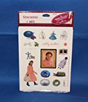 The American Girls Collection Hallmark Addy Stickers 4 Sheets [並行輸入品]