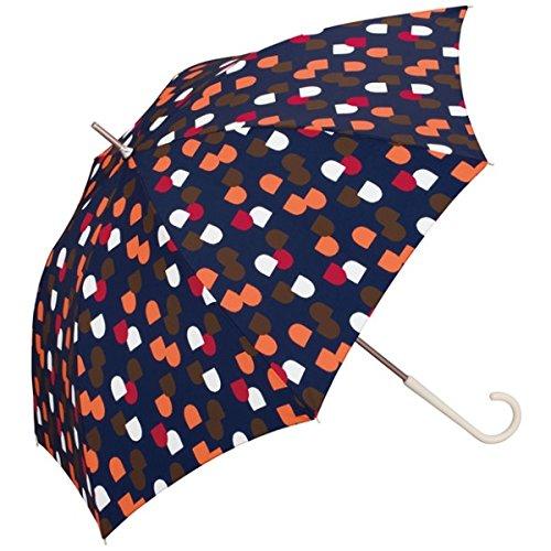 w.p.c(WPC) 【長傘】【軽くて丈夫で持ちやすい】マド (雨傘/レディース)【ネイビー/58】