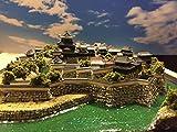 日本100名城  岡崎城  お城 模型 ジオラマ完成品 450サイズ