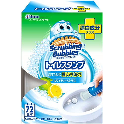 スクラビングバブル トイレ洗浄剤 トイレスタンプ 漂白成分プ...