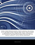 Articles on People from Bartholomew County, Indiana, Including: Scott McNealy, Brad Garton, Mike Pence, Tony Stewart, J. Irwin Miller, Fred Armstrong,