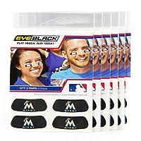 ( 24Strips ) Eyeブラック–Miami Marlins MLB EyeブラックAnti Glare Strips , Great forファンon選手& Game Day