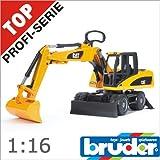 Bruder (ブルーダー社) キャタピラーホイールローダー ショベル 【02445】 Pro Series