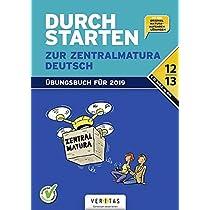 Durchstarten - Zur Zentralmatura. Deutsch: AHS/BHS. Uebungsbuch mit Loesungen