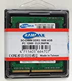 RamMax 4GBメモリ 2枚組 DDR3 1600 PC12800 RM-SD1600-D8GB DUAL 204pin DDR3-SO-DIMM ノート パソコン用 増設メモリ 8GB デュアル