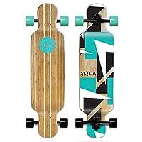 Sola Bamboo Premium Graphic Design Complete Longboard Skateboard - 36 to 38 inch (Future) [並行輸入品]