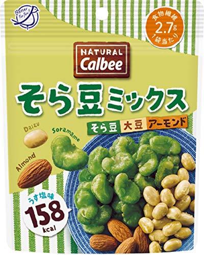 カルビー NATURALCalbeeそら豆ミックス うす塩味 27g ×12袋