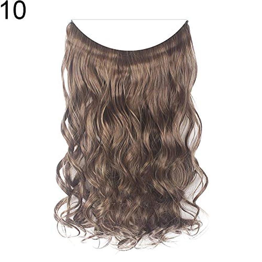 まもなく寸前近代化slQinjiansav女性ウィッグ収納コンテナ22インチ女性ロングストレート/カーリーワイヤーヘッドバンドウィッグ目に見えない髪の延長