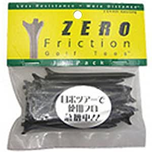 ZERO FRICTION TEE レギュラー 16本入り ブラック レギュラー