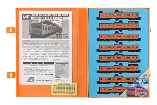 Nゲージ A0411 103系 西日本更新車 大阪環状線・オレンジ8両セット